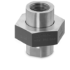 Threaded Holder with union nut - REMBE Pressure Relief
